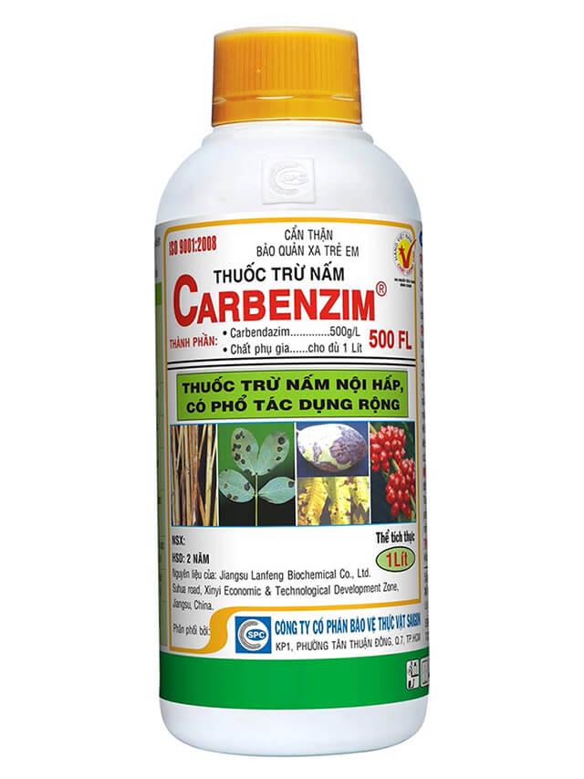 Hướng dẫn sử dụng thuốc Carbenzim 500FL trị nấm cho lan hiệu quả